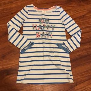 Cat & Jack striped tunic dress Sz 7/8